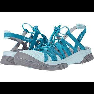 Jambu😀NEW😀Water Diva Encore turquoise size 10